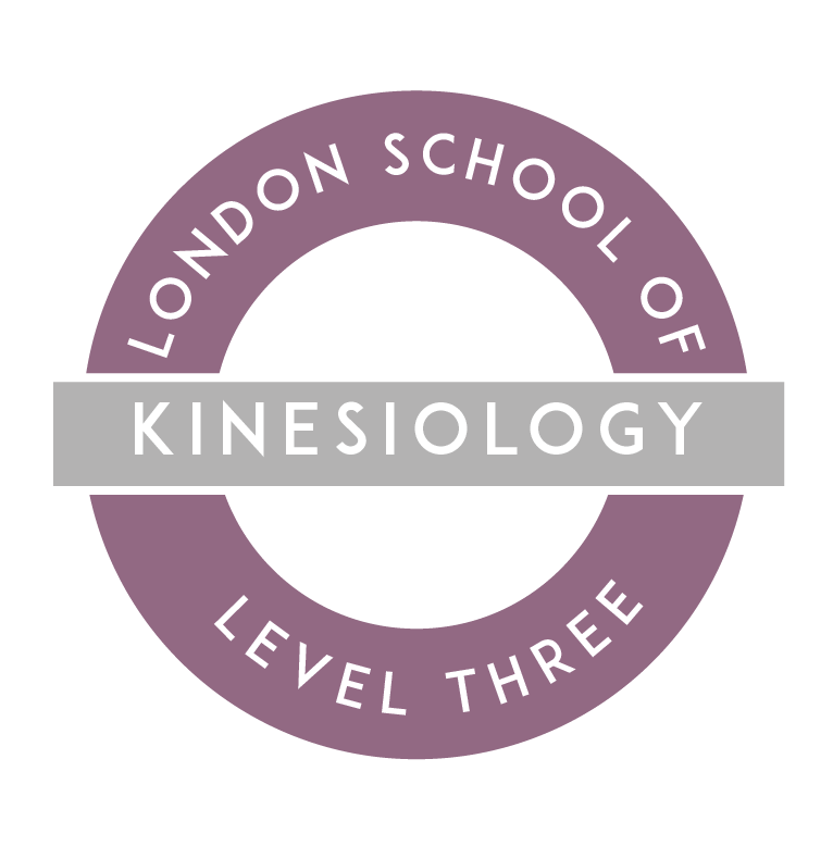 Kinesiology Training in London Level 3 logo